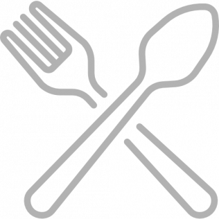 Plastic forks, spoons and knives